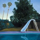 Poolside Painting by Tracy Stone thumbnail