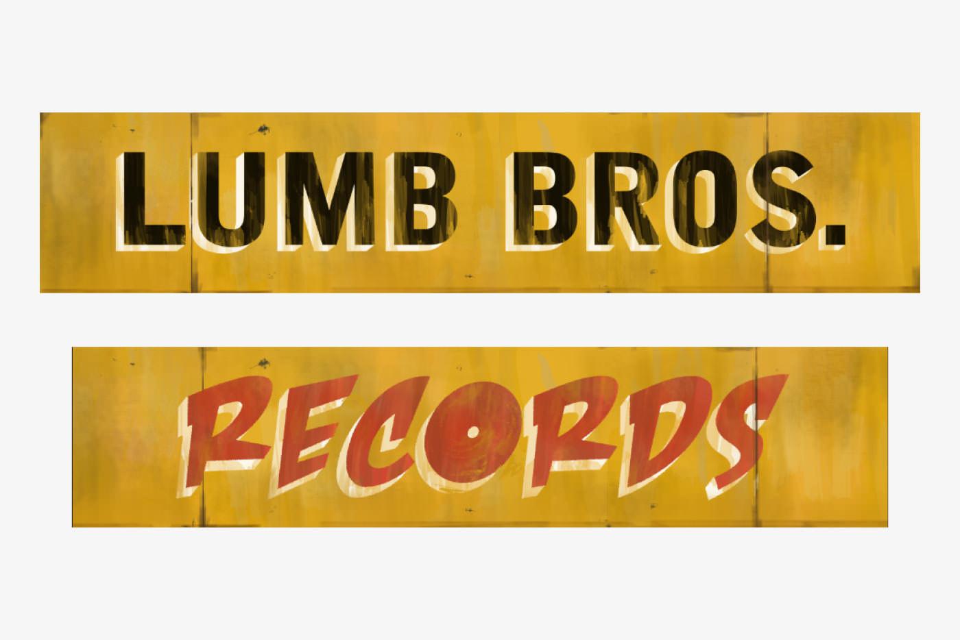Record Shop Signage