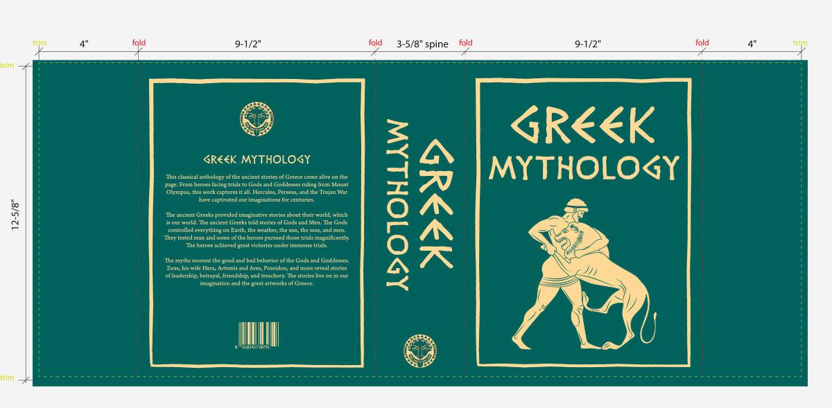 Clash Royale Greek Book Design