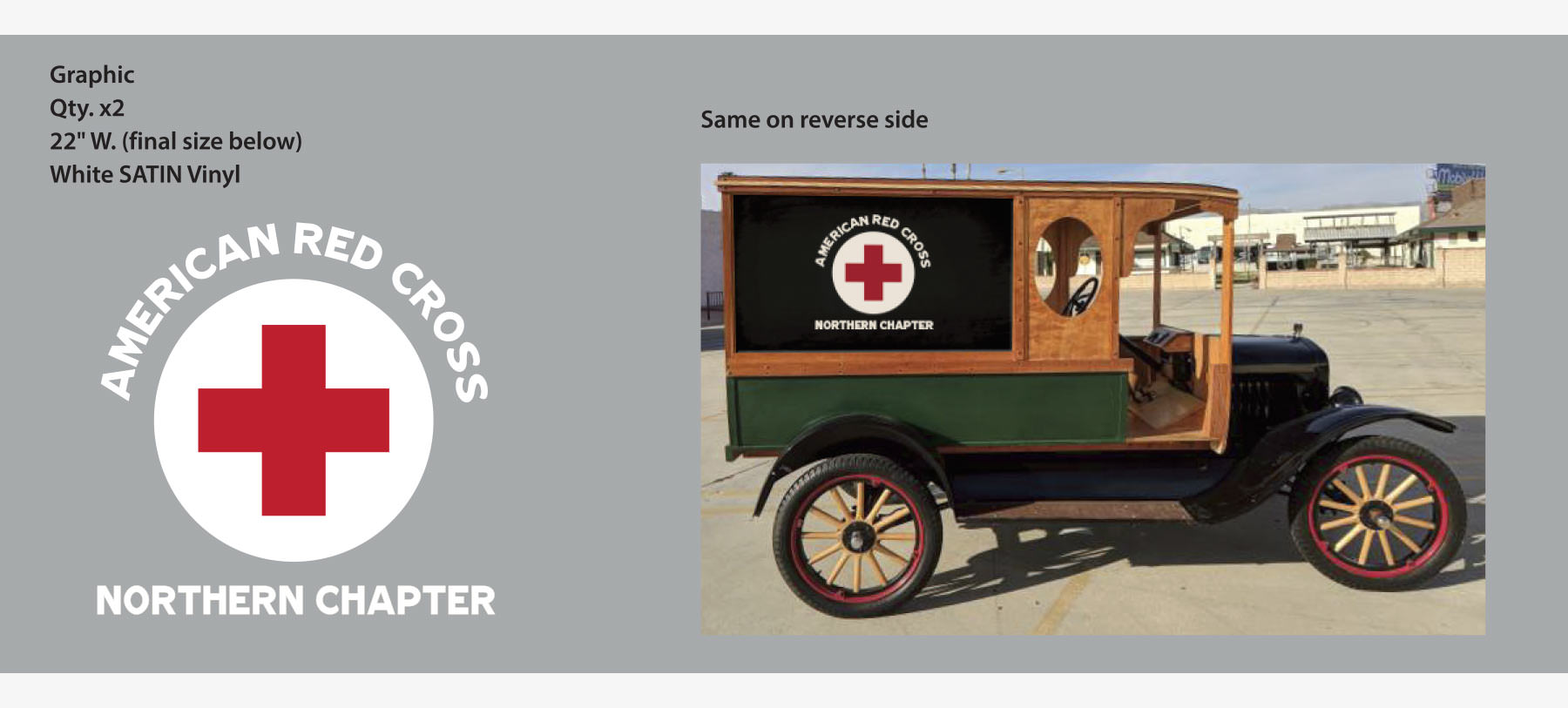 Wells Fargo Anthem - Period Red Cross Graphics