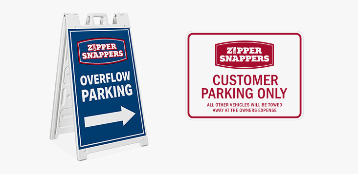 Grace and Frankie Season 5 - Zipper Snappers Signs