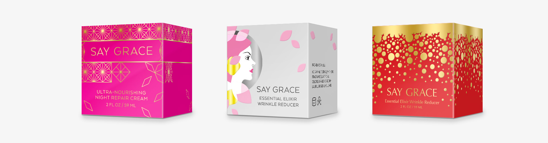Grace and Frankie Season 2 Cosmetics Packaging Design