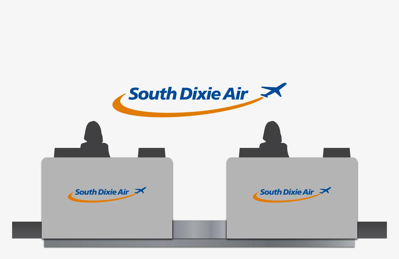 Mascots: Airport Mockup