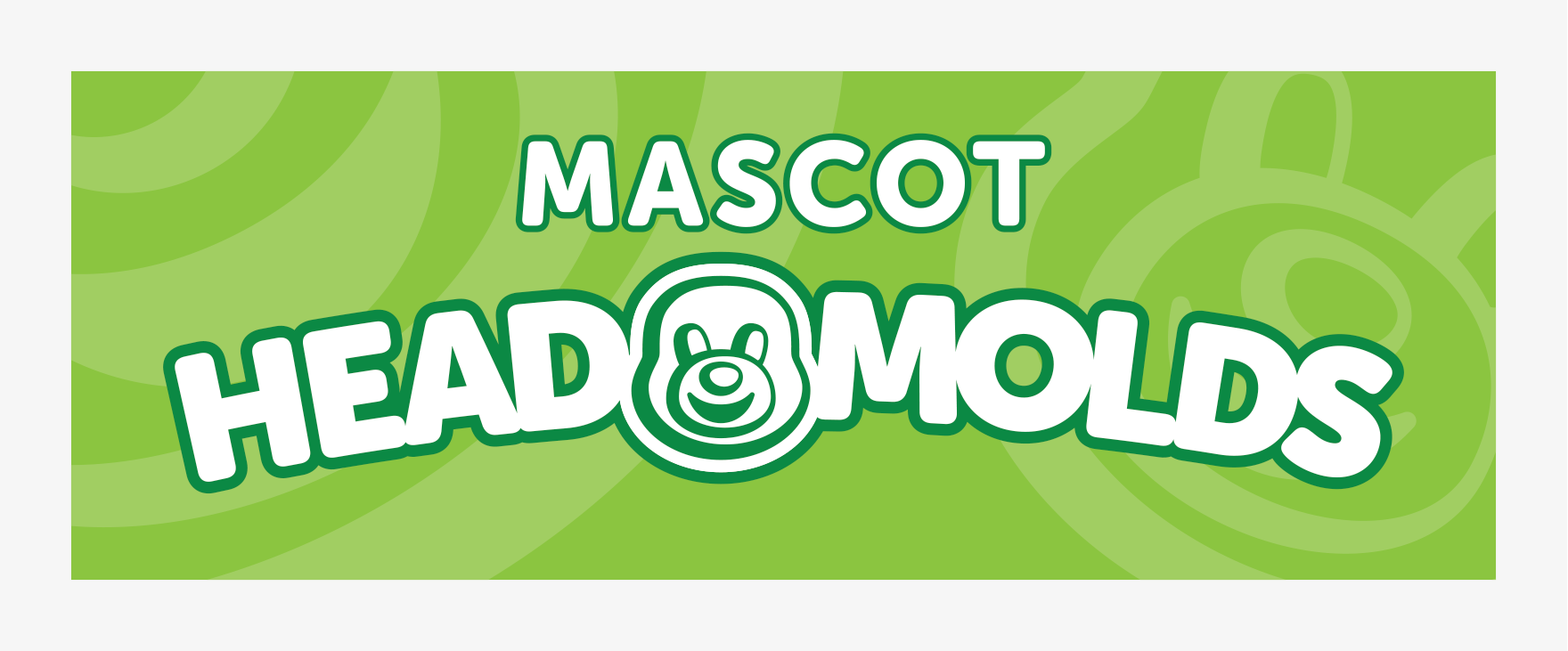Mascots: Vendor Booth Banner Head Molds