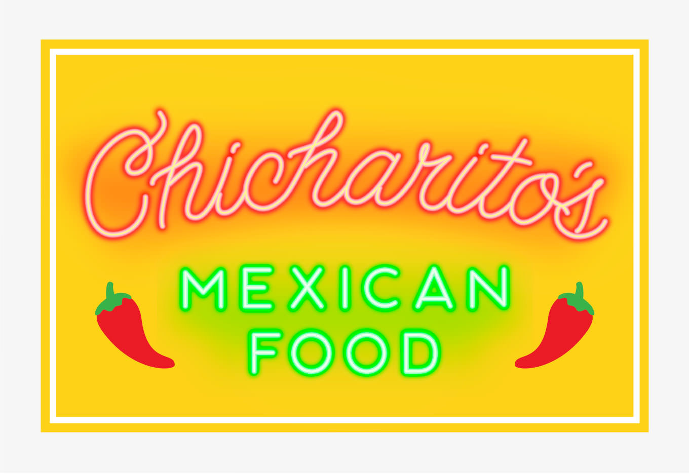 Mascots: Chicharito's Neon Sign