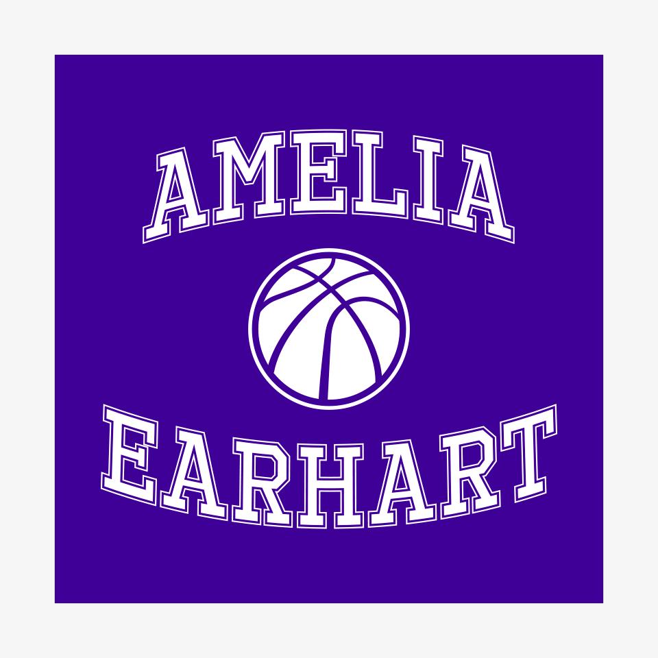 Mascots: Amelia Earhart Team Logo