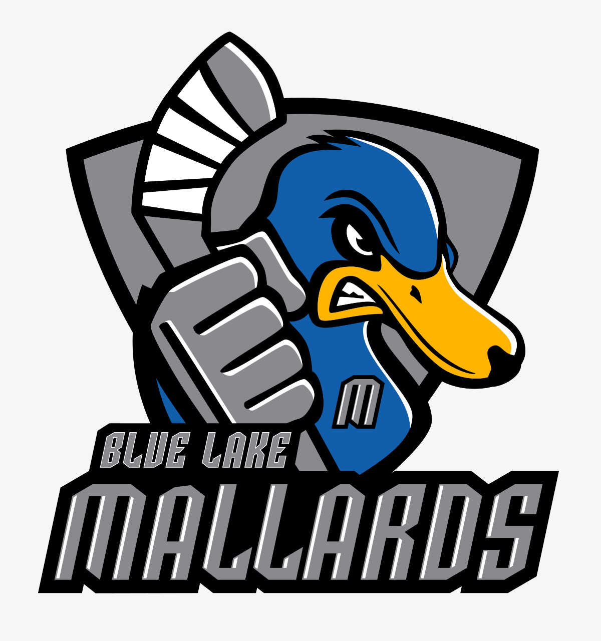 Mascots: Mallards Team Logo