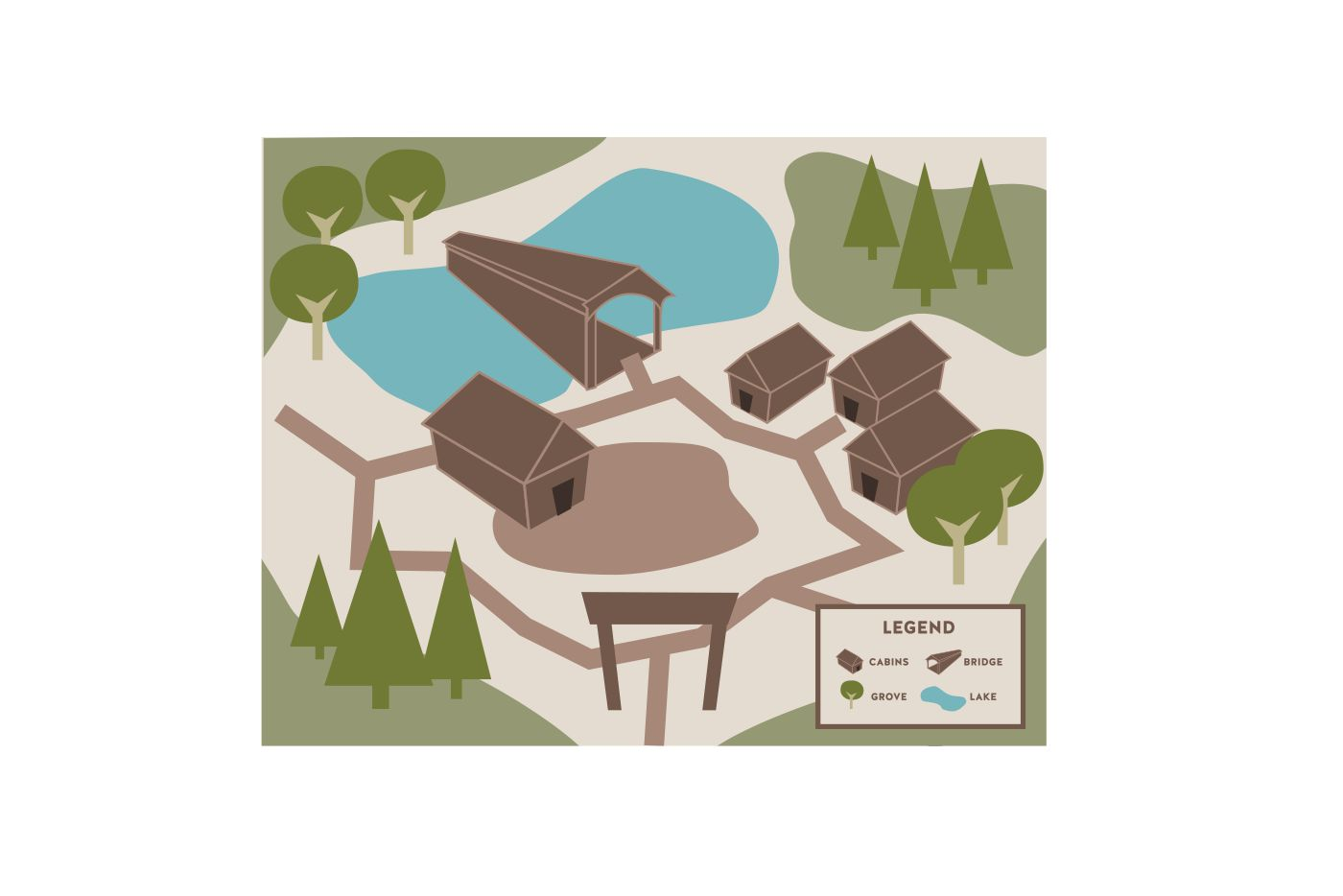 camp map graphic