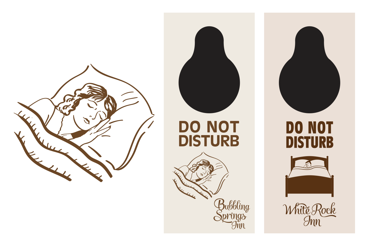 do not disturb sign graphics