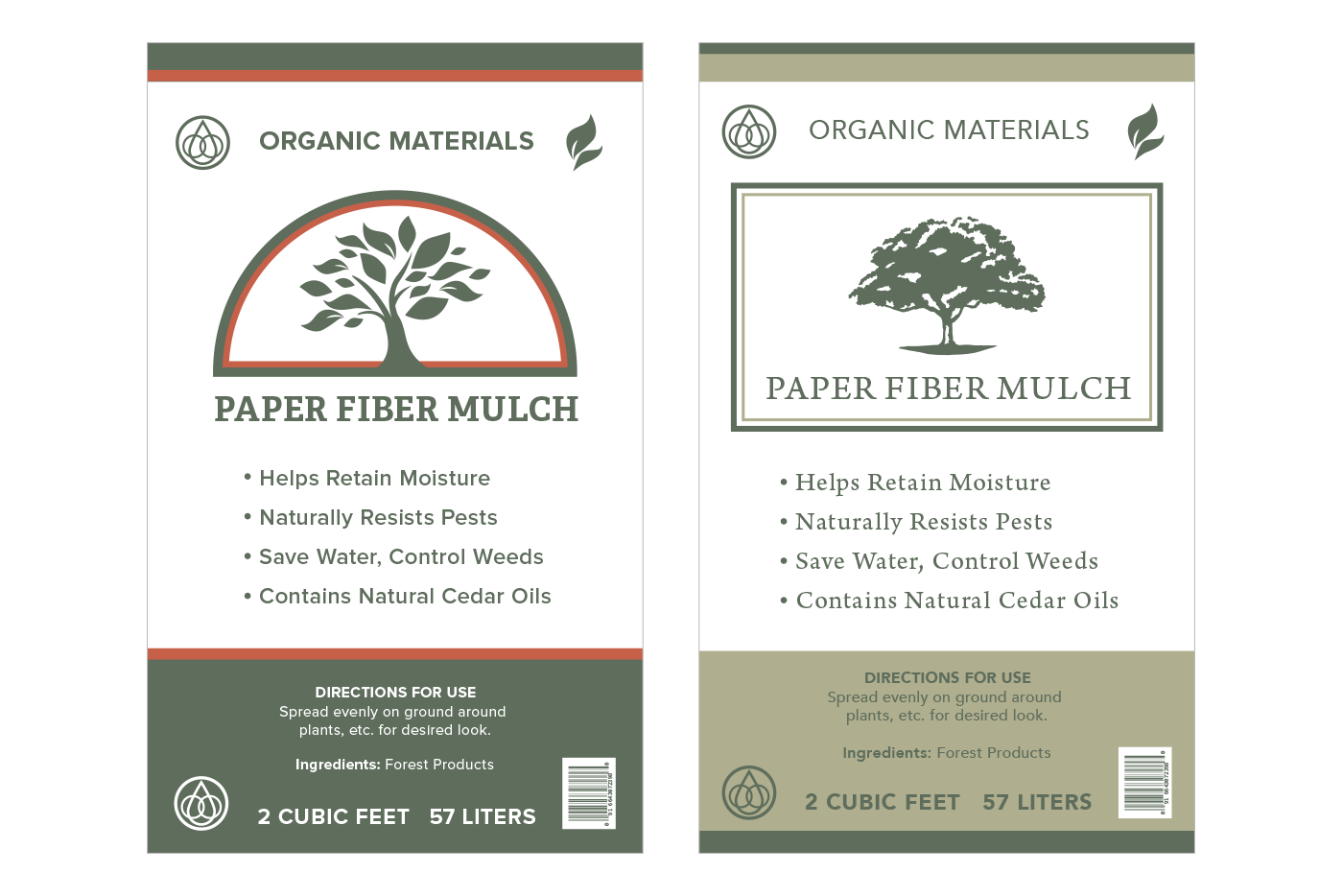 mulch bag graphics