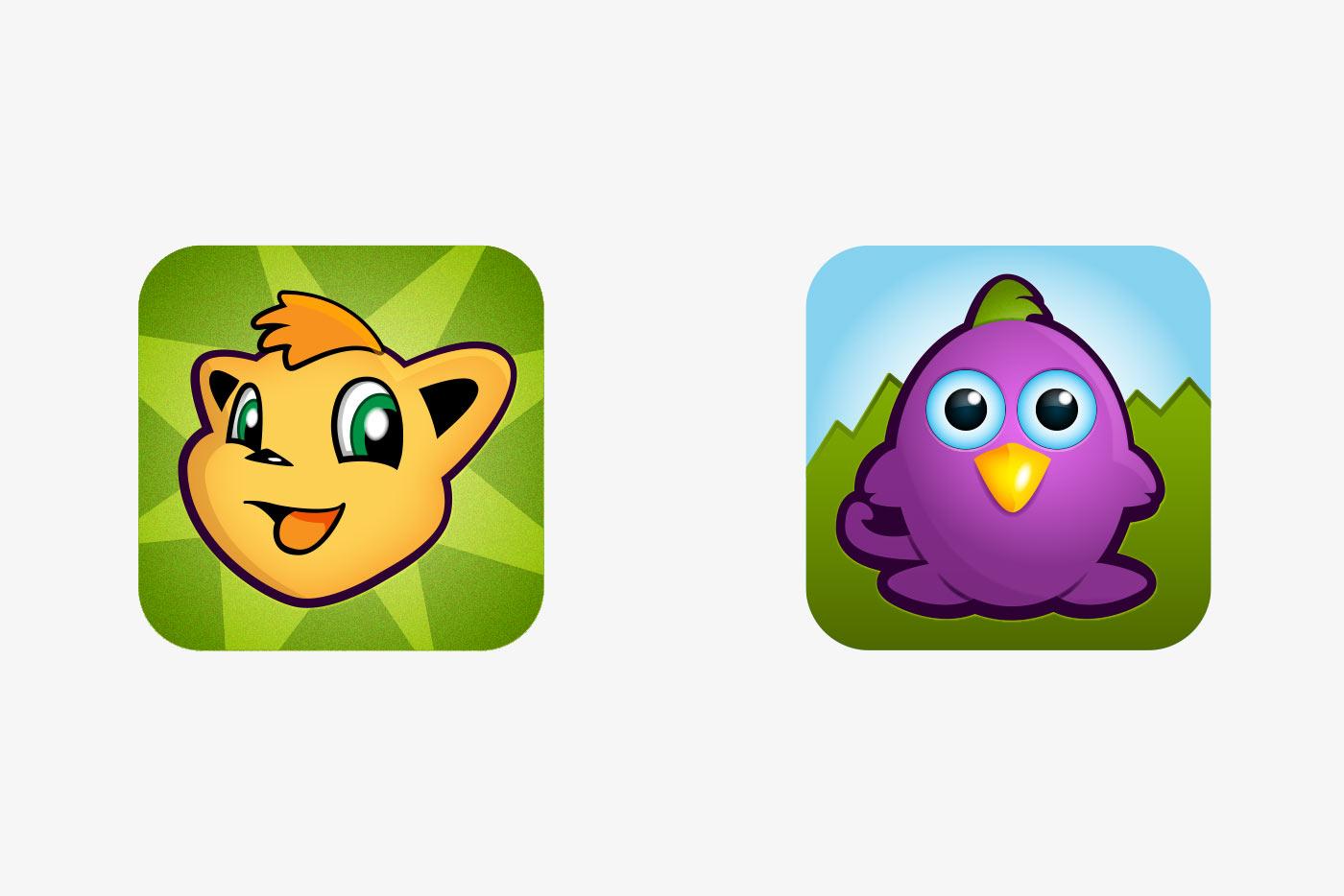 App Logos for TV Commercials