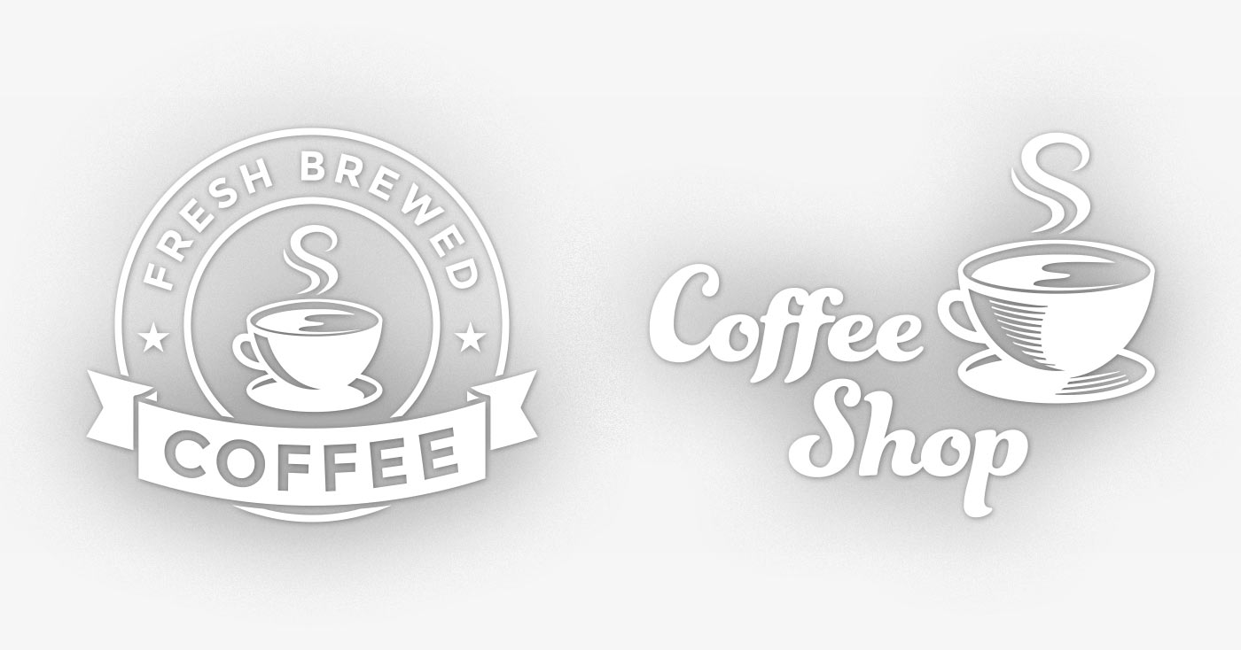 Coffee Shop Logos for TV Commercials
