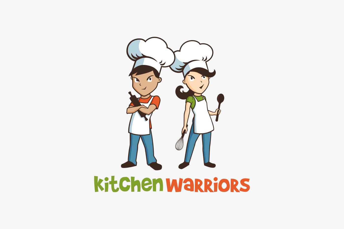 Kitchen Warriors Logo