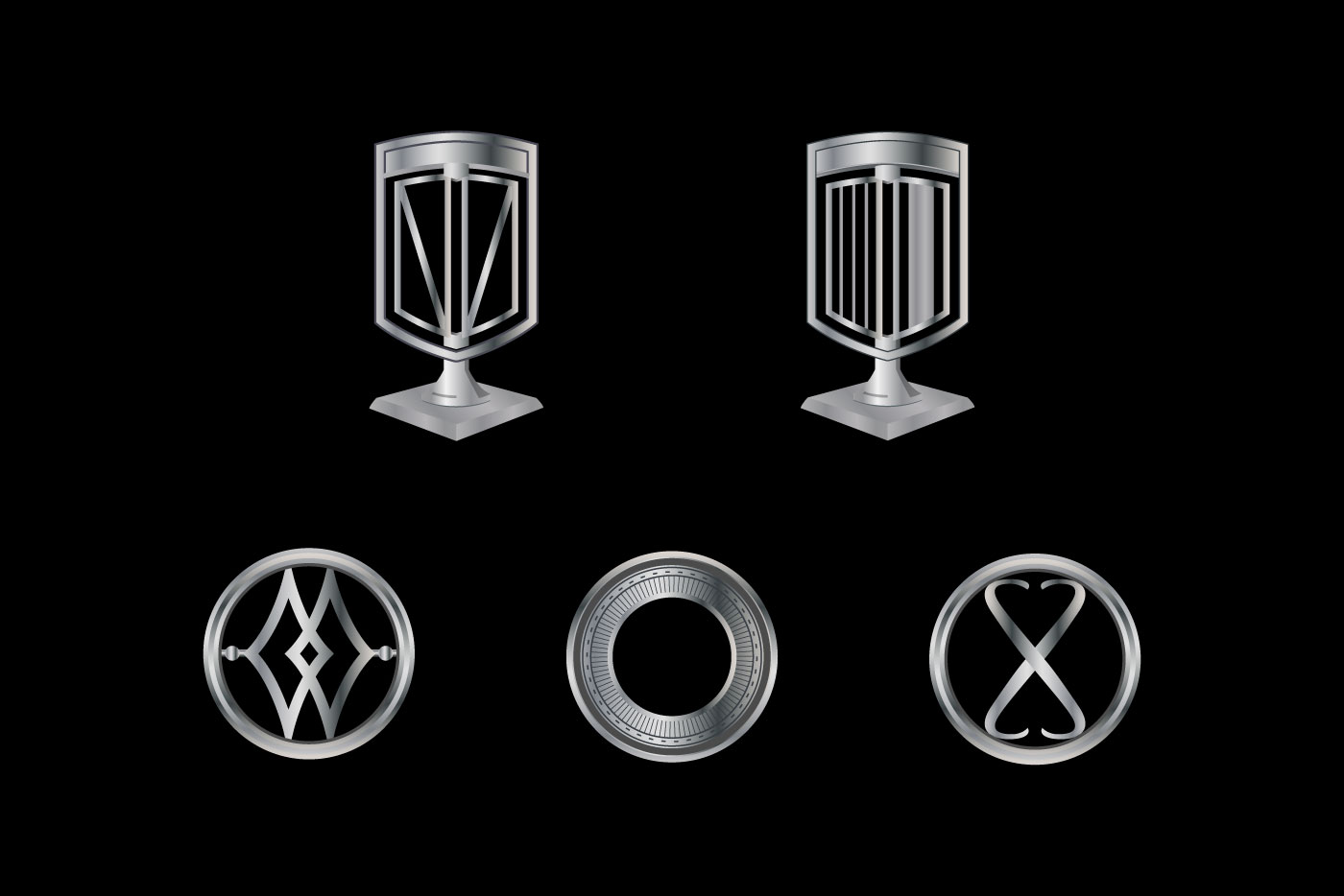 car ornament logos