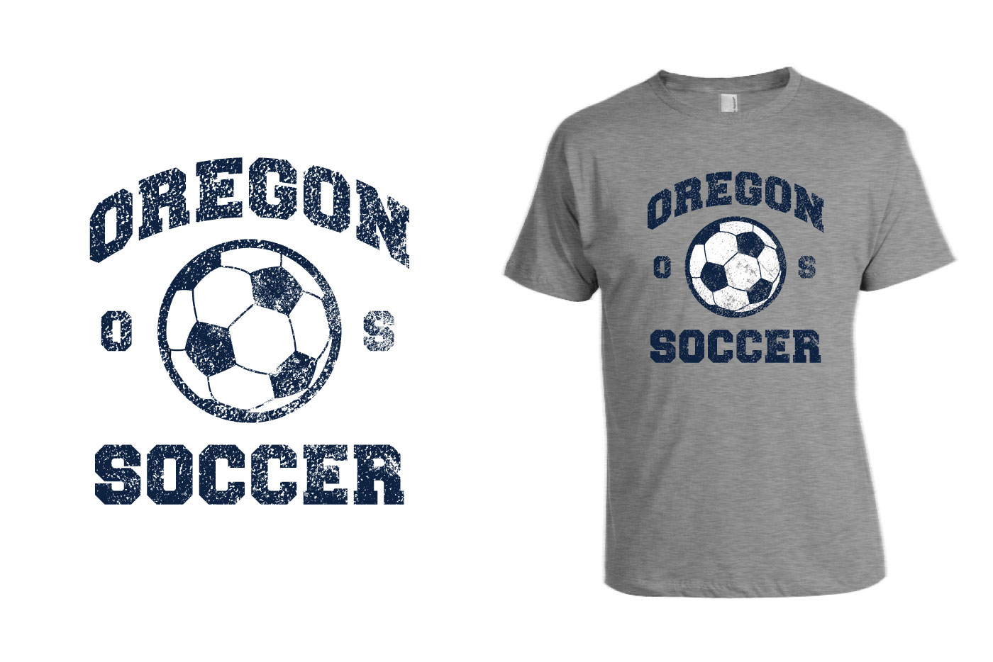 soccer t-shirt graphic